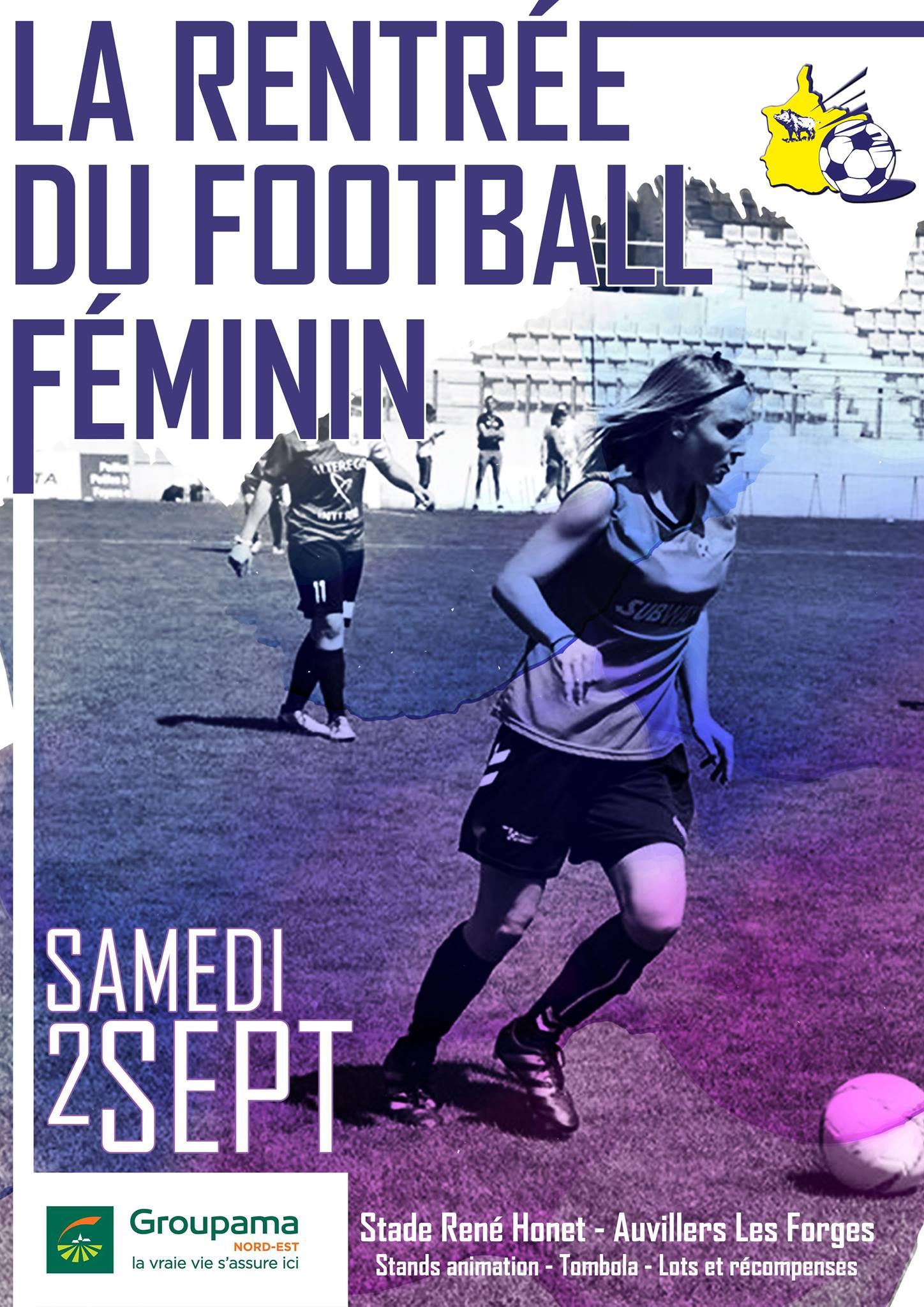 Tournoi Foot féminin ALF 2017